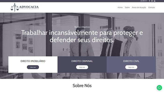 Site para Advogados Tenil