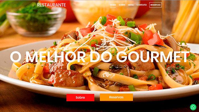 Site para Restaurantes Tenil