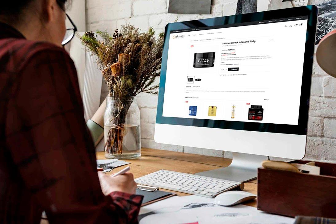 Seu site feito estratégicamente para o seu negócio.