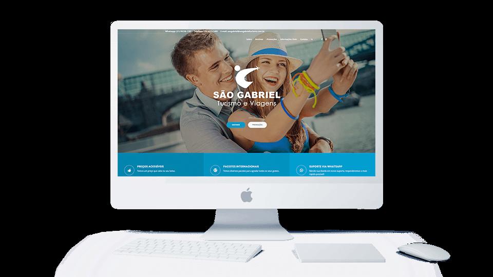 Tenha seu site com um baixo investimento.